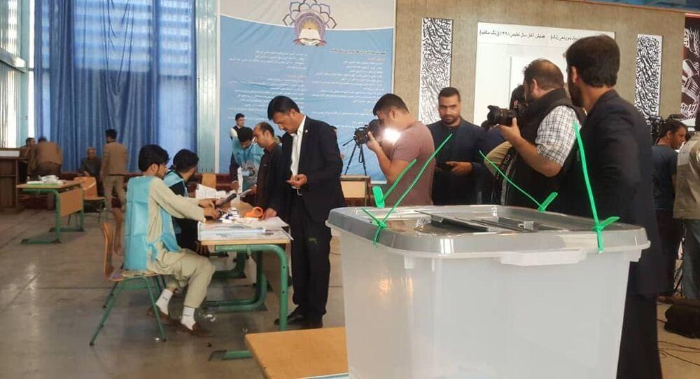 Elezioni presidenziali in Afghanistan