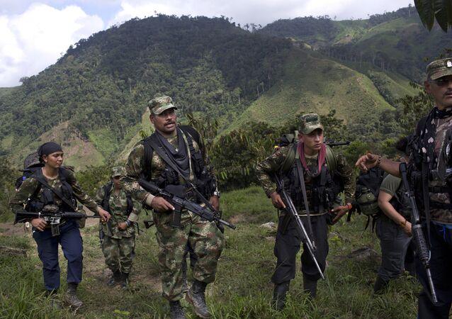 Militanti della FARC in Colombia