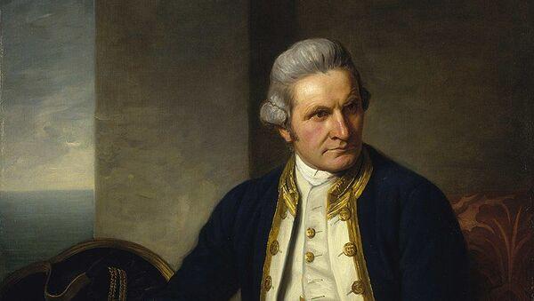 James Cook, ritratto del 1775 - Sputnik Italia