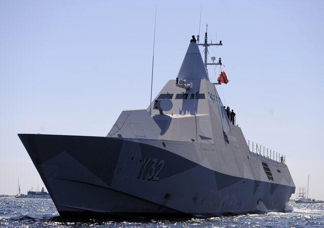 HMS Helsingborg (K32), class of Visby-class corvettes