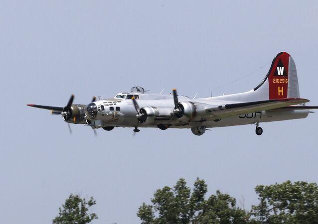 Aereo B-17 della Seconda Guerra Mondiale (foto d'archivio)