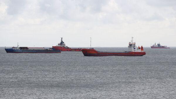 Una flottiglia di petroliere Lukoil nel mare del Nord - Sputnik Italia
