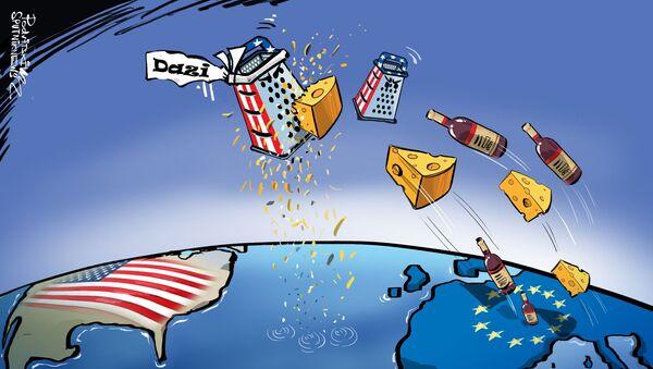Imposte Usa sui prodotti europei - Sputnik Italia