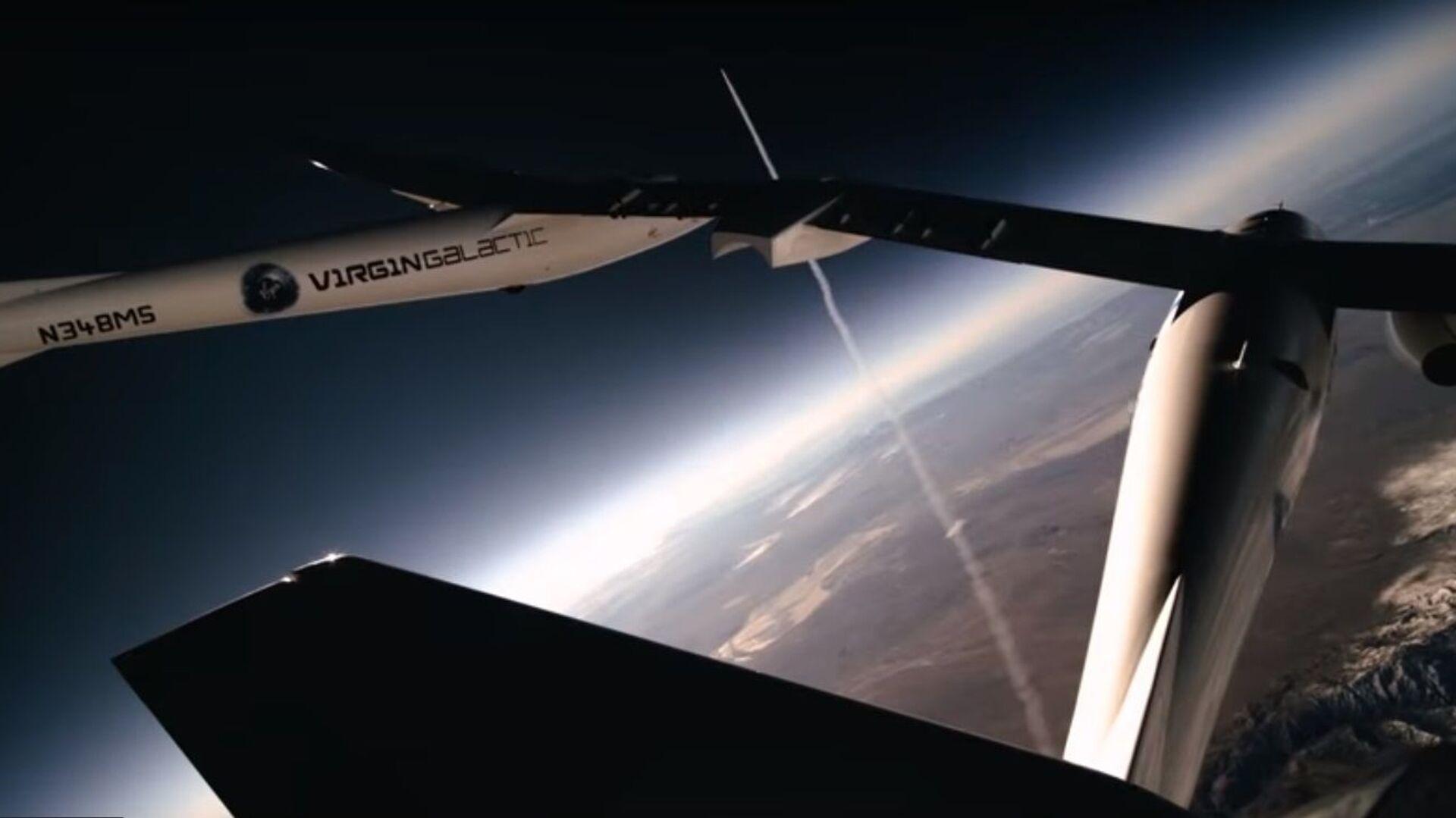 SpaceShipTwo della Virgin Galactic - Sputnik Italia, 1920, 23.05.2021