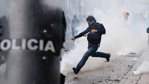 Proteste in Ecuador - Sputnik Italia