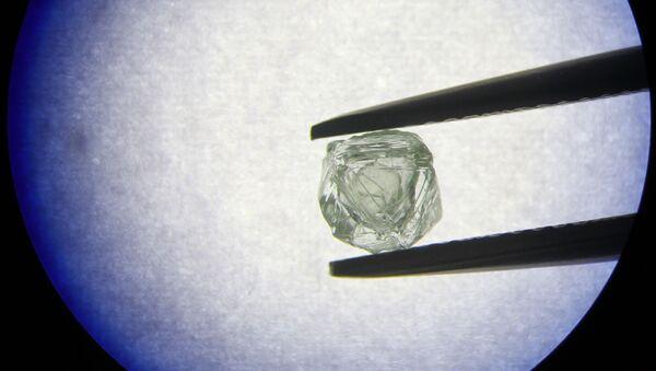 Diamante con un diamante più piccolo dentro - Sputnik Italia