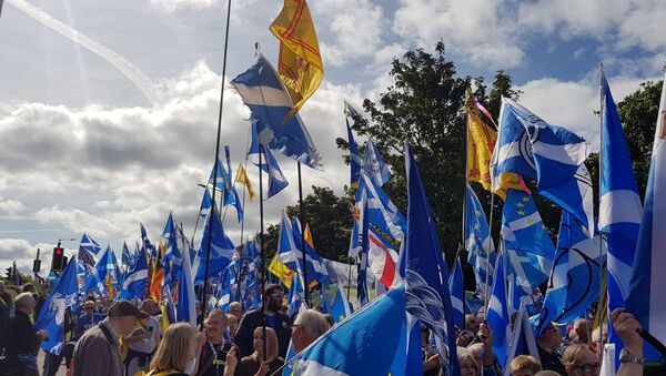 Bandiere nazionali scozzesi - Sputnik Italia