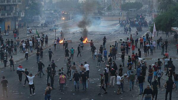 Proteste in Iraq - Sputnik Italia
