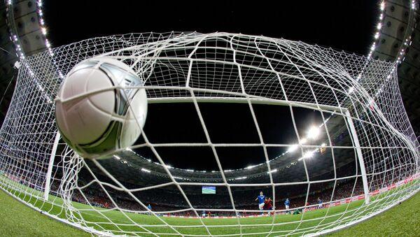 Un pallone in rete - Sputnik Italia