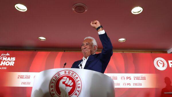 Il leader del partito socialista portoghese António Costa - Sputnik Italia