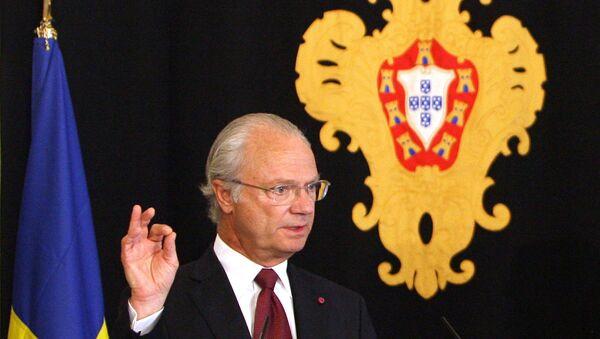 Re svedese Carl XVI Gustaf - Sputnik Italia