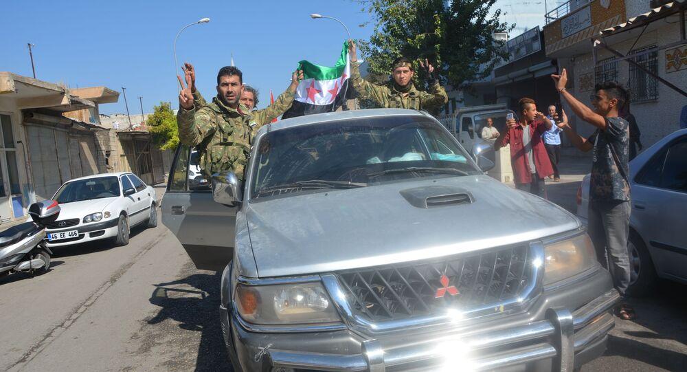 Combattenti dell'Esercito siriano libero