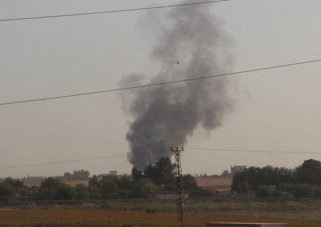 Bombardamenti presso il confine turco-siriano