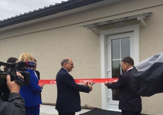 E' stata inaugurata la casa IsolMAX