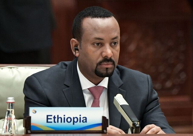 Il premier etiope Abiy Ahmed