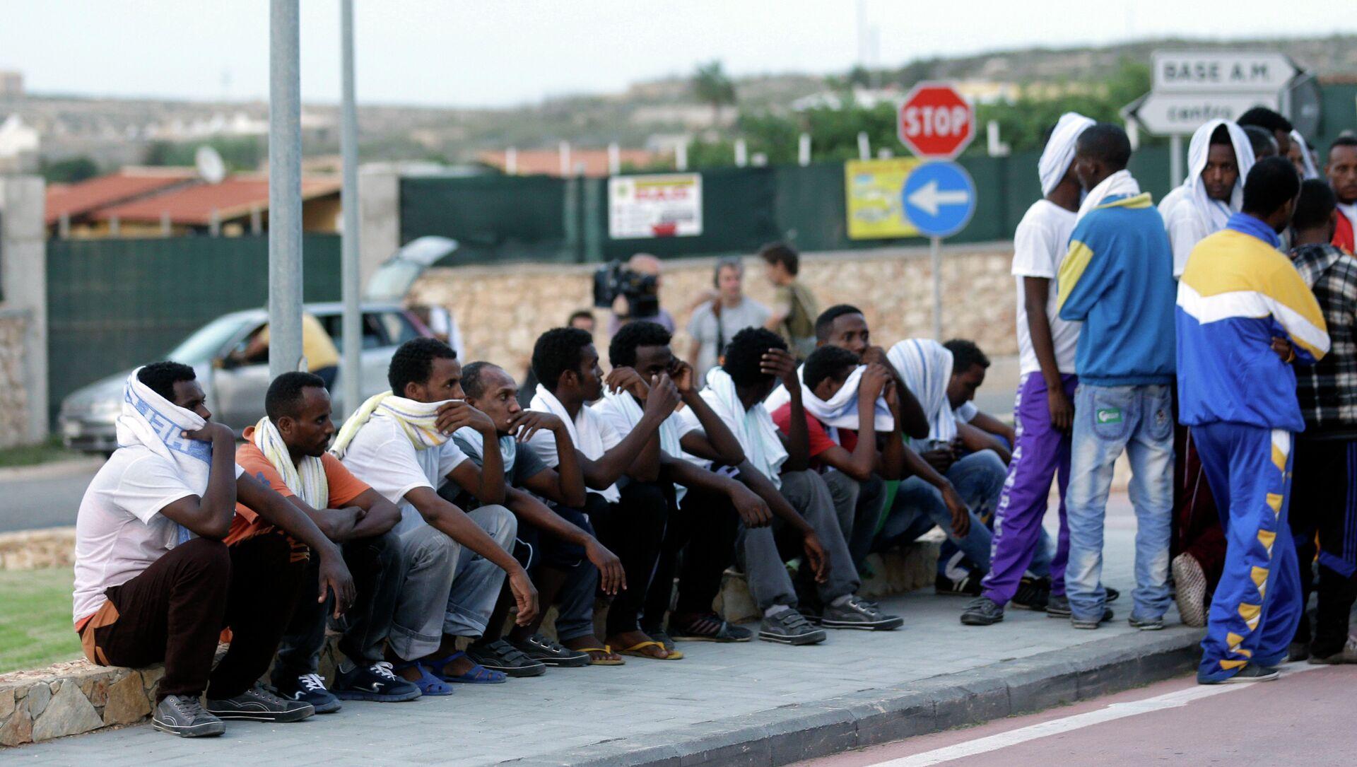 Migranti dall'Eritrea a Lampedusa - Sputnik Italia, 1920, 01.03.2021