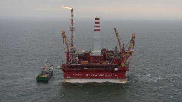 Piattaforma petroliera Prirazlomnaya - Sputnik Italia
