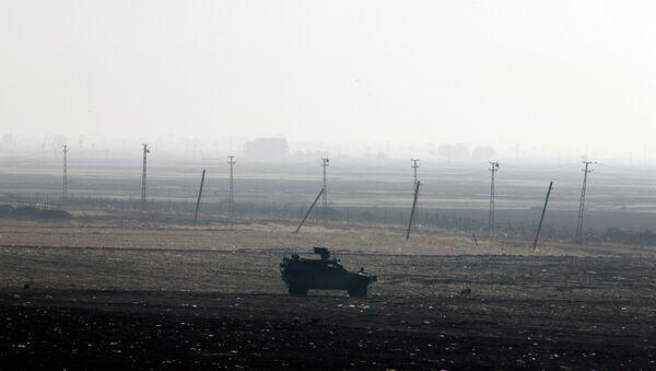 Il confine tra Siria e Turchia - Sputnik Italia