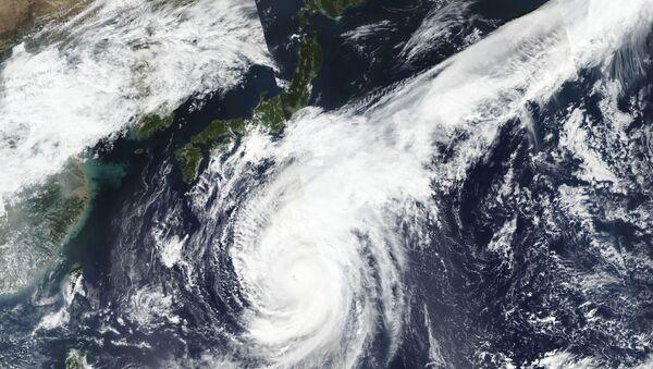 Foto dal satellite di Hagibis - Sputnik Italia