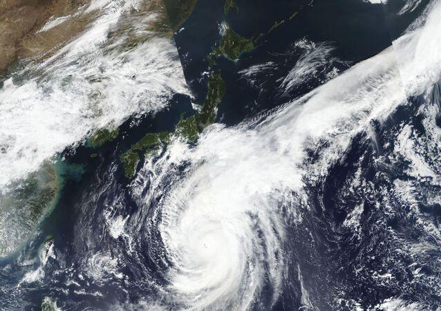Foto dal satellite di Hagibis