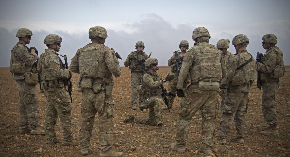 Soldati americani in Siria