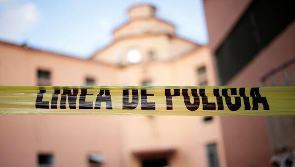 Linea di polizia, Messico - Sputnik Italia