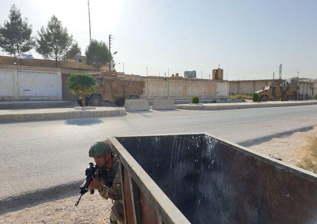 Soldati turchi in Siria