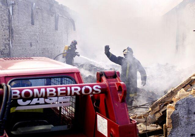 Un incendio a São Paulo, 2005