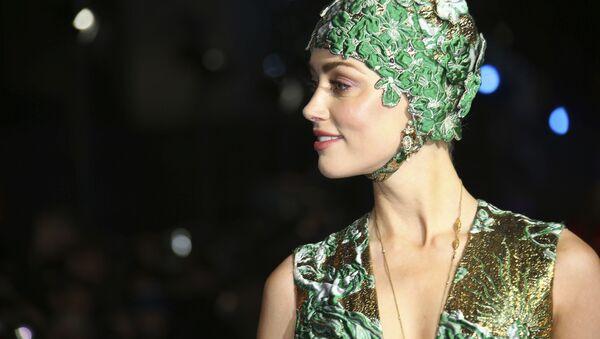 Американская актриса Эмбер Херд на премьере фильма Аквамен в Лондоне - Sputnik Italia