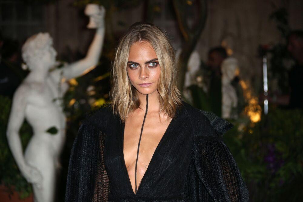 La top model britannica Cara Delevingne