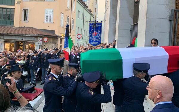 Funerali di Matteo Demenego e Pierluigi Rotta - Sputnik Italia