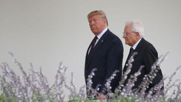 Mattarella alla Casa Bianca da Trump - Sputnik Italia
