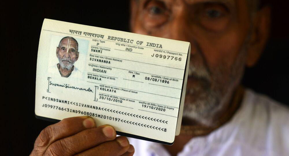 Swami Sivananda, l'uomo più longevo al mondo
