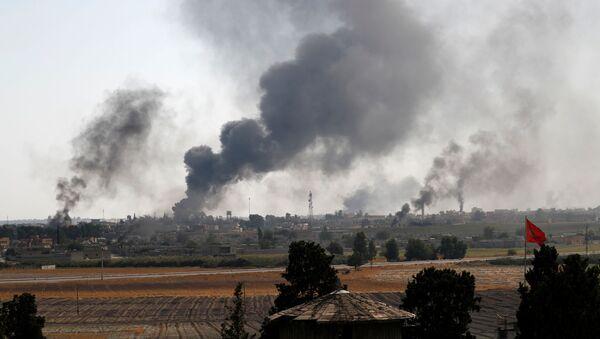La città siriana di Tel Abyad - Sputnik Italia