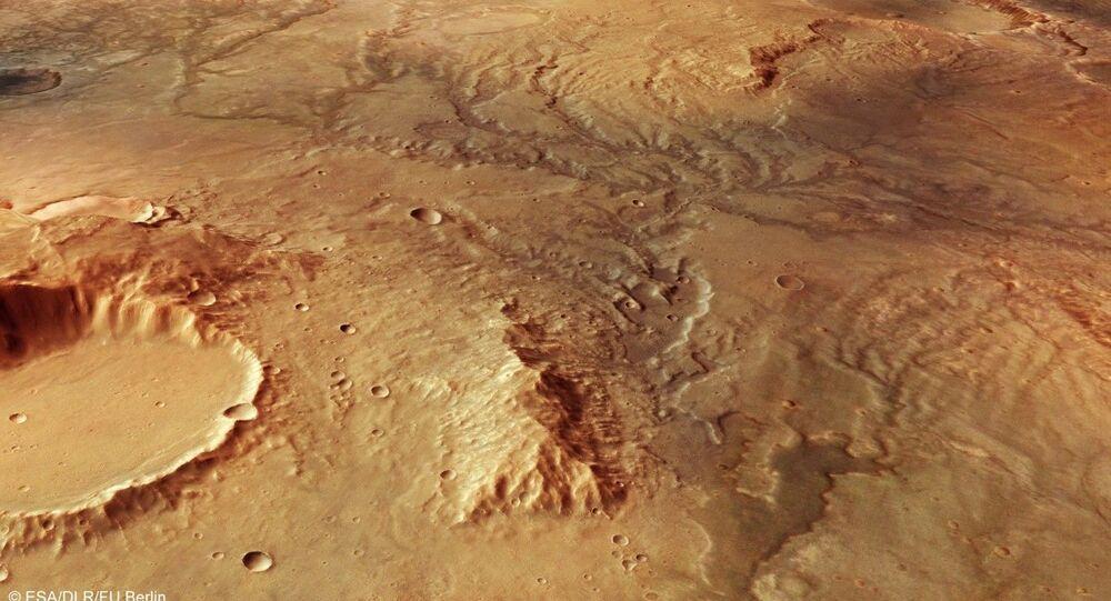 Esa Mars Express fotografa un antico fiume estinto su Marte