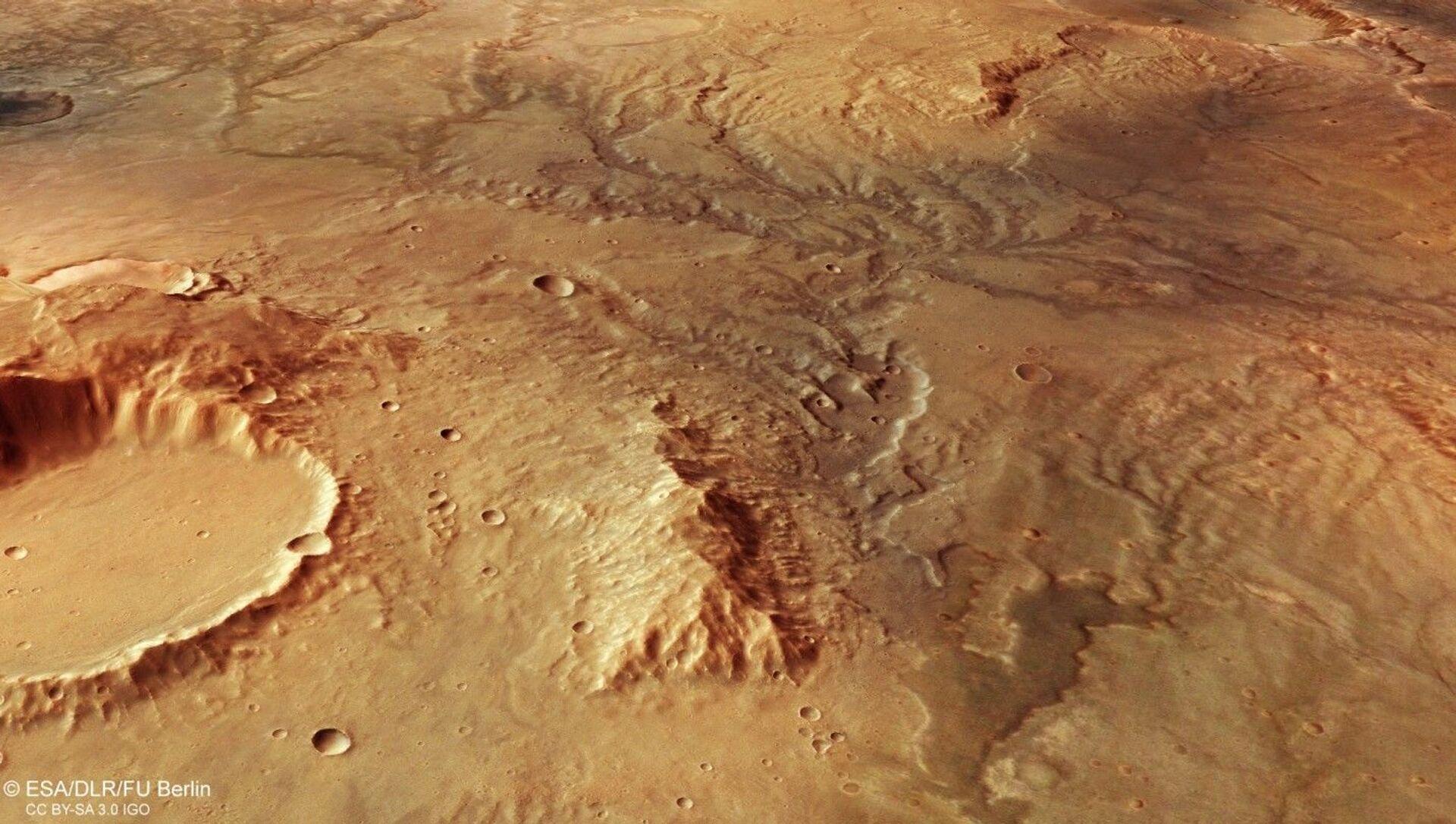 Esa Mars Express fotografa un antico fiume estinto su Marte - Sputnik Italia, 1920, 13.04.2021