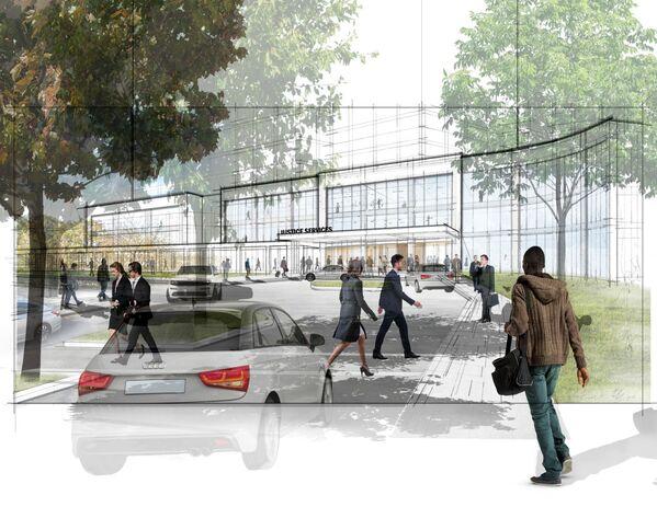 Il progetto di una delle prigioni che dovrebbero costruire invece della prigione più grande del mondo Rikers Island a New York, USA - Sputnik Italia