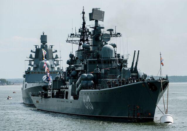 Cacciatorpedinieri della Marina russa