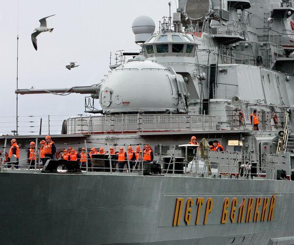 L'incrociatore missilistico nucleare pesante Petr Velikij. - Sputnik Italia
