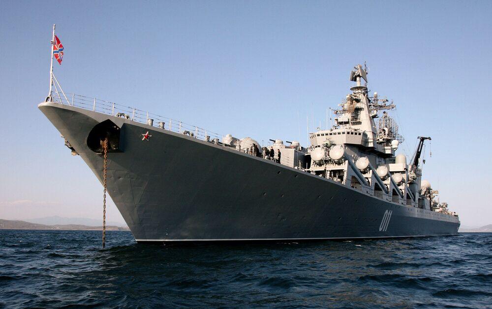 L'incrociatore missilistico Varyag.
