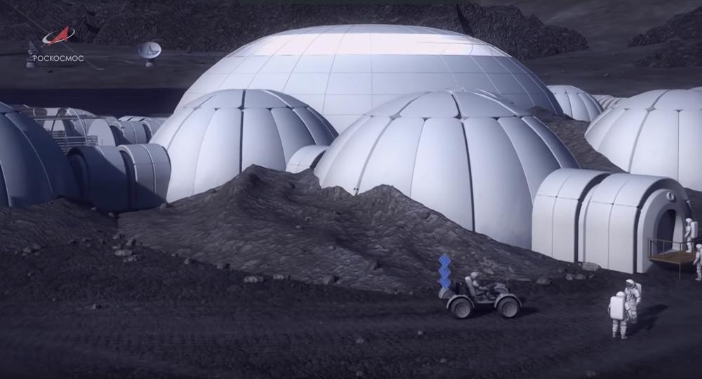 Base lunare russa