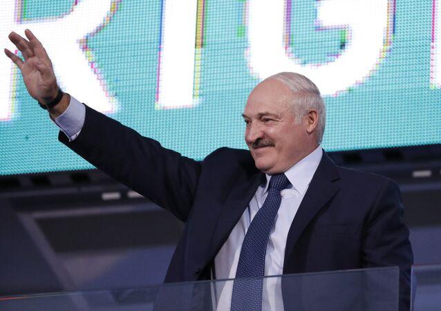 Presidente bielorusso Alexander Lukashenko