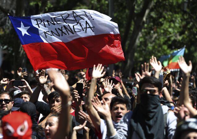 Proteste in Cile