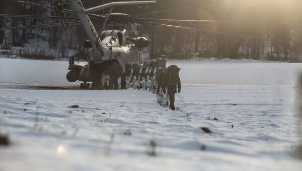 Военнослужащие Германии во время учений НАТО Trident Juncture 18 в Норвегии - Sputnik Italia