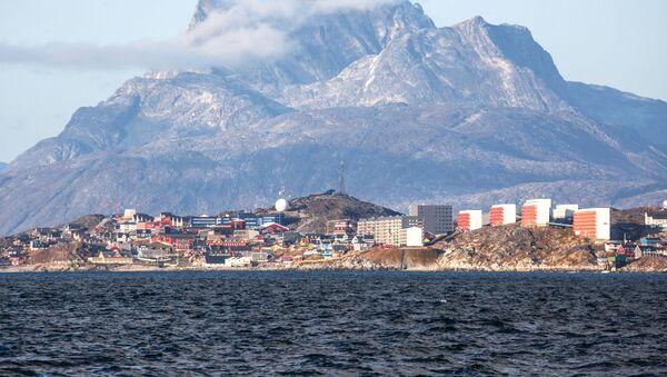Città Nuuk, in Groenlandia - Sputnik Italia