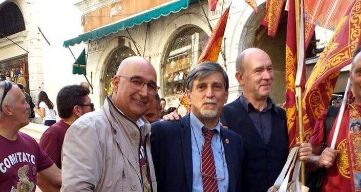 Marino Finozzi, Palmarino Zoccatelli, Edoardo Rubini
