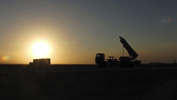 Il presunto lancio dei missili Sayyad-2, Iran, 2013 - Sputnik Italia