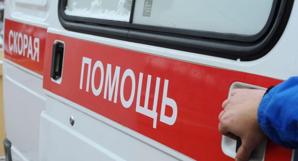 Ambulanza russa (foto d'archivio)