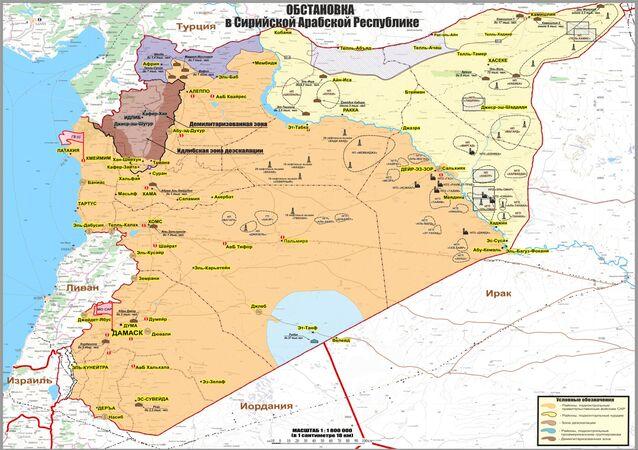 La situazione nella Repubblica Araba di Siria