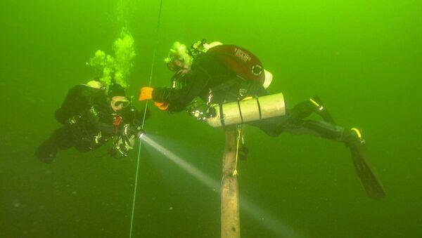 Esplorazione della nave affondata Velox - Sputnik Italia